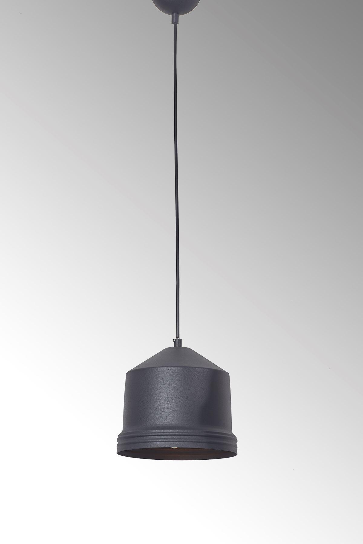 Lucas Siyah Tekli Tasarım Lüx Sarkıt Avize