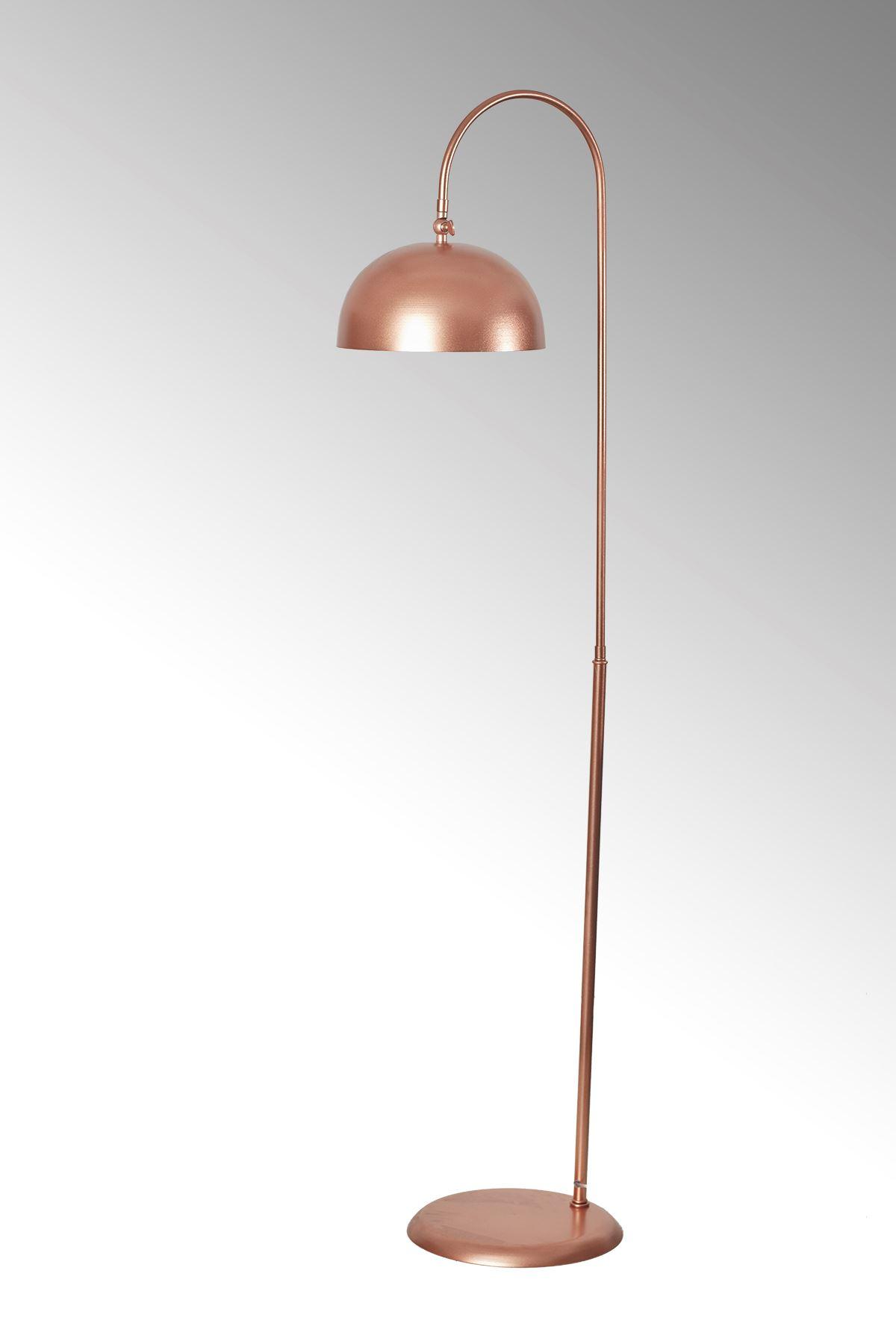Sonart Bakır Metal Gövde Tasarım yerden Aydınlatma Lüx Lambader